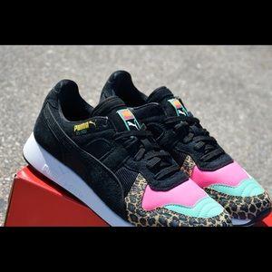 puma animal print sneakers